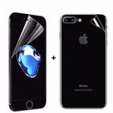 Película Silicone Frente E Verso Curvada Iphone 8 Plus 5 5