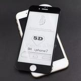 Pelicula Vidro 5d Curva Iphone 6 7 8 Plus X 10 Tela Inteira
