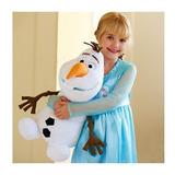 Pelucia Grande Olaf Musical Filme Frozen 35 Cm Antialergico