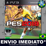 Pes 2018 Pes 18 Ps3 Mídia Digital Psn Original Português