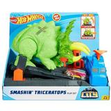 Pista Hot Wheels   Ataque De Triceratops Gbf97   Mattel