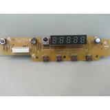Placa Display Sensor Ir Teclado Funções Dvd Samsung Dvd P370