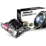 Placa Mãe Asrock D1800b itx   Processador J1800 Mini Itx
