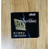 Placa Mãe Asus H110m d Intel Soquete Lga 1151