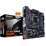 Placa mãe Gigabyte P  Intel Lga 1151 Matx Z370m Aorus Gaming