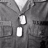 Plaqueta De Identificação Militar Dog Tag   Modelo Lisa Ntk