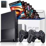 Playstation 2 Slim Desbloqueado 1manete 3jogos