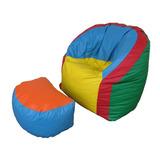 Poltroninha Sofazinho Poltrona Sofa Infantil Com Apoio Pe