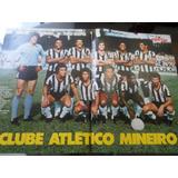 Poster Atlético Mineiro 1977 Manchete Esportiva