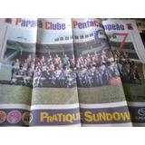 Poster Paraná Clube Penta Campeão Paranaense 1997 Estado Pr