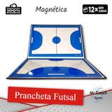 cc99b1d913f82 Prancheta Tática Futsal Magnética Caneta Apagador E Ímã