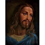 Quadro De Jesus 50x38 Cm Óleo Sobre Tela Orig  Irisney Bosco