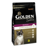 Ração Golden Castrados Premium Especial Gato Adulto Frango 1kg