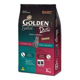 Ração Golden Duo Premium Especial Gato Adulto Cordeiro salmão 3kg