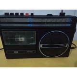 c8b35b6447c Radio Antigo Cce Cr 500 Am Fm Sw Ondas Curtas E Toca Fitas