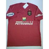 eb4486bf23 Rara Camisa Flamengo Oficial Nike Escudo Remo 2007 2008