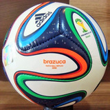 Rara Minibola Brazuca adidas Copa De 2014 ebfa14aed1364