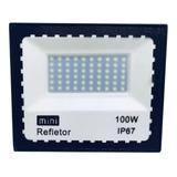 Refletor Led 100w Holofote A Prova D água Bivolt