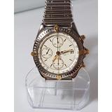 b52b019523d Relogio Breitling Chronomat Bracelete Rollon Bullet Nova