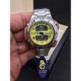 a1a057c1dd5 Relogio Atlantis Modelo Jp1060 Aqualand Amarelo
