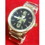1a3df7bf007 Relógio Atlantis Style Analogo A3347 Cruz Dourado