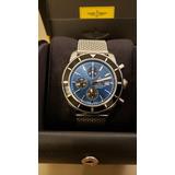 5c18d18bde3 Relogio Breitling Superocean Heritage Azul Completo