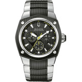 ef03cbc9e2d Relógio Bulova Accutron 65b123 Swiss Made Cronografo