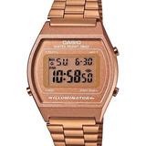 Relógio Casio Feminino Vintage Rose Gold B640wc 5adf   Nfe