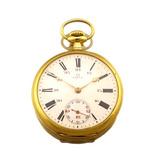 b6795464ddc Relógio De Bolso Omega Grand Prix Em Ouro 18k J19989