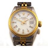 e4cc5a4cd79 Relógio De Pulso Rolex Oyster Perpetual Date Aço J17299