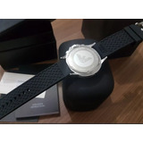 1f7f86af676 Relógio Empório Armani Ar0636 Completo Na Caixa