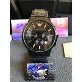 56b9814a053 Relógio Emporio Armani Ar2453 Original Caixa 3 Anos ...
