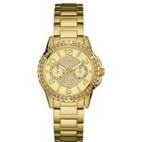 Relógio Guess Dourado   Loja do Som - Shopping, Música, Vídeos e ... 20181fe6e0