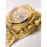 Relógio G99 Invicta Bolt Zeus 12763 Original Gold