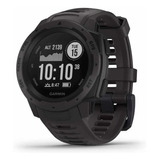 Relógio Gps Garmin Instinct Graphite Smart Cardio Original