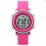 e441a36542 Relógio Infantil Skmei Digital 1100 Rosa