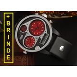76792be5343 Relógio Masculino Original Ohsen Promoção brinde Fretegrátis