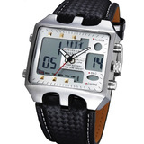 b4c0cda1a6c Relógio Masculino Pulso Ohsen Led Xmas Digital Anal Branco