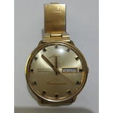 621e100a60f Relógio Mido Automático Ocean Star Datoday Commander Dourado