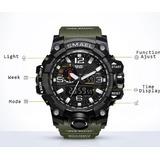 Relogio Militar Smael Sport Modelo Ws1545 Analogico digital