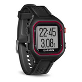Relógio Monitor Cardiaco Garmin Gps Forerunner 25 Preto Novo
