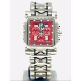 0aed85b07f1 Relógio Oakley Minute Machine Diamond Red Sem Juros