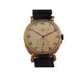 59bfe8ea81f Relógio Omega Estrela Vermelha Masculino Em Ouro Rose J10858