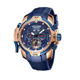 cae226f806a Relógio Reef Tiger Military For Men Ouro Rose Rga3532