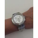 e84e0189091 Relógio Swatch Full Blooded Prata Svck4032g Original