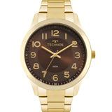 Relógio Technos Feminino Promoção Dourado Marrom 2035mpv 4m