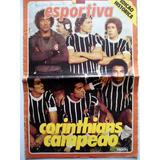 Revista Corinthians Campeão 77 Manchete Esportiva C  Poster