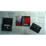Rolling Stones Fita Cassete Japão Usada Star Box 1986 Encart