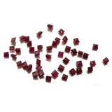 393772a259c Rubi Natural Quadrado Pedra Preciosa Lote 44 Gemas J21295