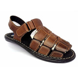 7ceeba9185 Sandália Masculina Preço Fabrica 100% Couro Promoção Shoes
